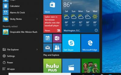 11 façons de personnaliser le menu Démarrer de Windows 10