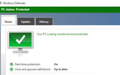 Comment utiliser l'antivirus Windows Defender sur Windows 10