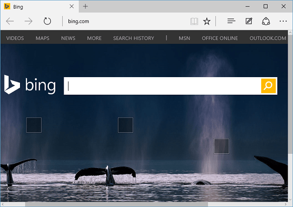 Définir la page d'accueil dans le navigateur Microsoft Edge sur Windows 10