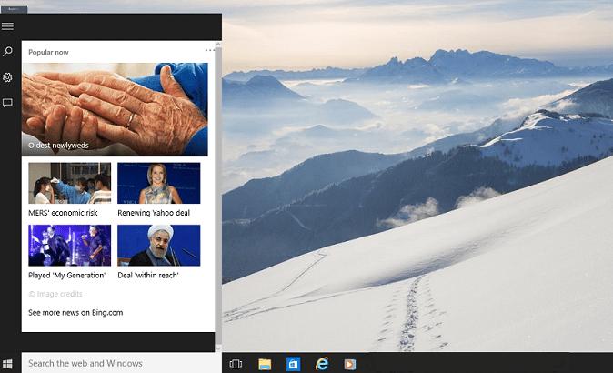 Personnaliser ou désactiver dans la barre des tâches de Windows 10