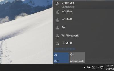 Comment se connecter au Wi-Fi sur Windows 10