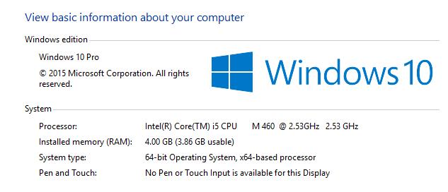 Comment afficher les informations système sur Windows 10