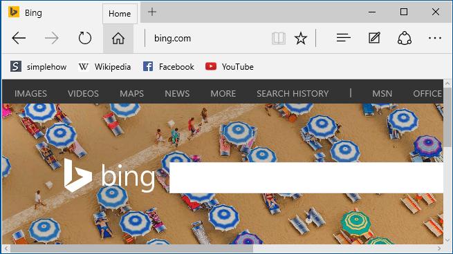 Comment rendre le bouton Accueil visible dans Microsoft Edge