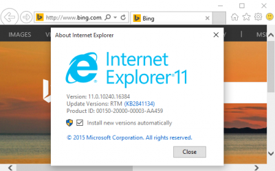 Comment ouvrir Internet Explorer : Windows 10