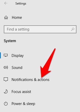 1607462552 158 Comment desactiver les notifications dans Windows 10
