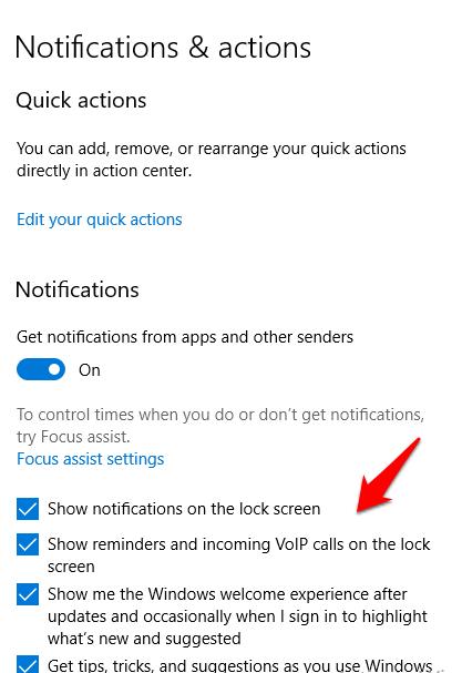 1607462555 34 Comment desactiver les notifications dans Windows 10