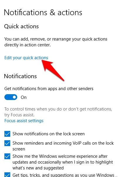 1607462555 893 Comment desactiver les notifications dans Windows 10
