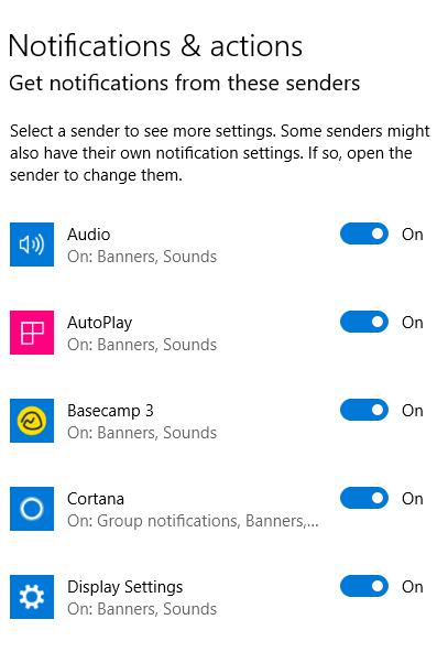 1607462557 15 Comment desactiver les notifications dans Windows 10