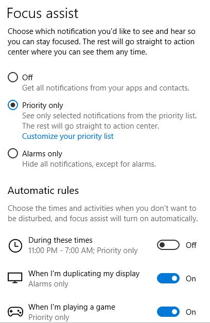 1607462559 376 Comment desactiver les notifications dans Windows 10