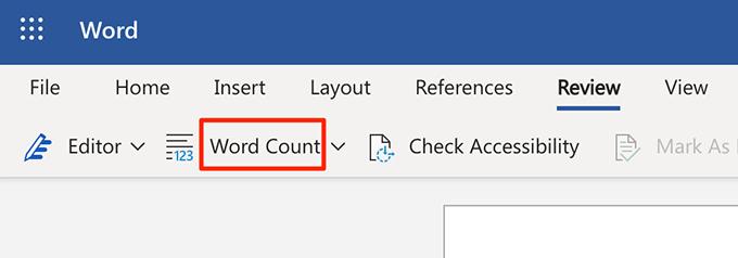 1607467069 804 Comment afficher le nombre de mots dans Microsoft Word
