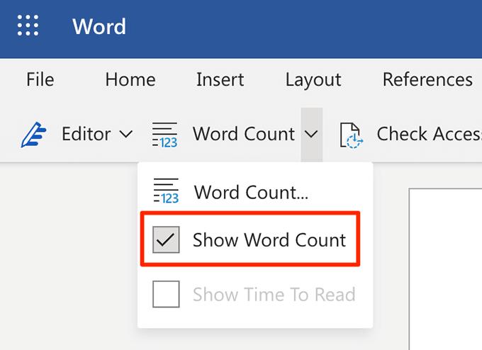 1607467070 182 Comment afficher le nombre de mots dans Microsoft Word