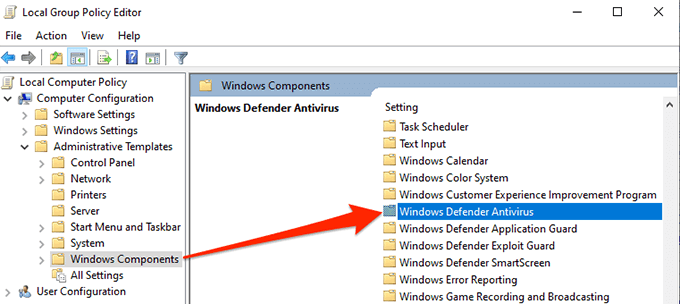 1607469901 401 Comment desactiver Windows Defender