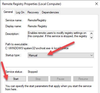 1607469995 354 Comment se connecter a un registre distant sous Windows 7