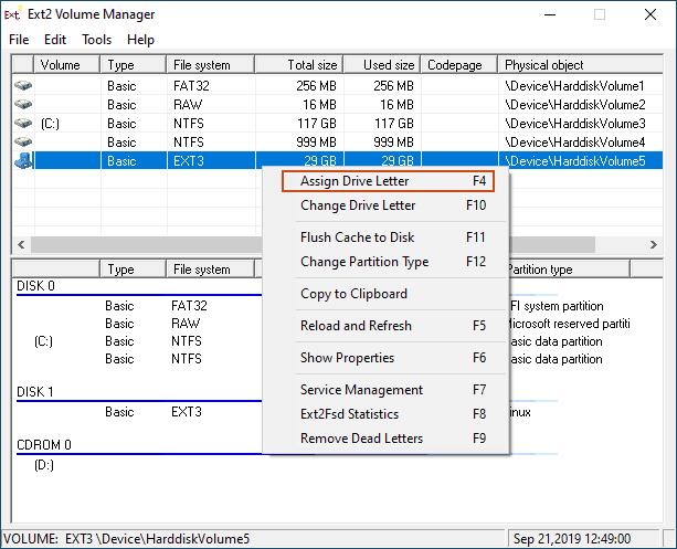 1607470263 730 Comment acceder aux partitions Linux sous Windows
