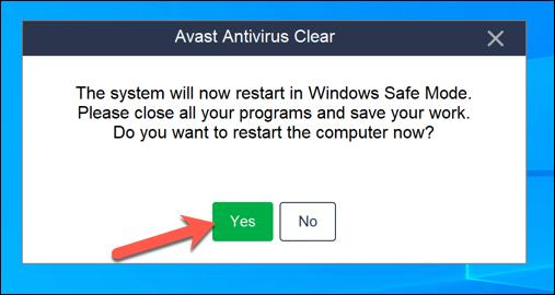 1607474081 483 Comment desinstaller Avast sur Windows 10
