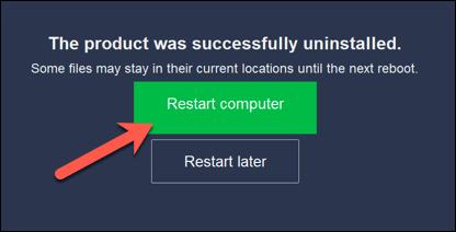 1607474081 89 Comment desinstaller Avast sur Windows 10