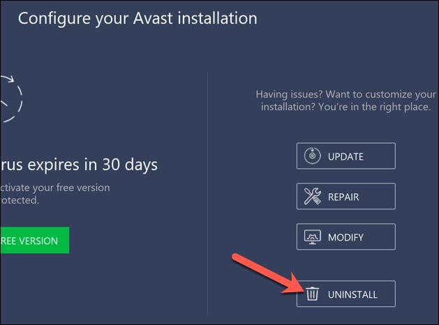 1607474081 904 Comment desinstaller Avast sur Windows 10