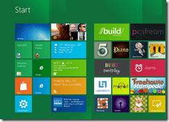 Interface Metro de Windows 8