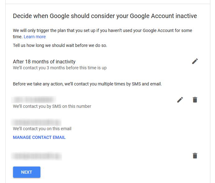 1607480320 151 Comment activer le gestionnaire de compte Google inactif