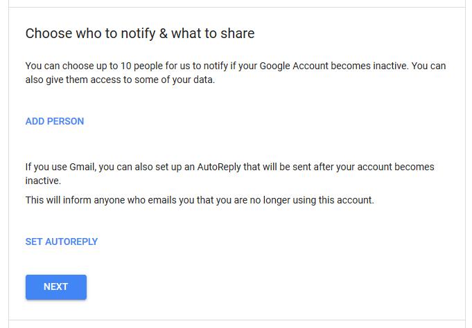 1607480320 41 Comment activer le gestionnaire de compte Google inactif