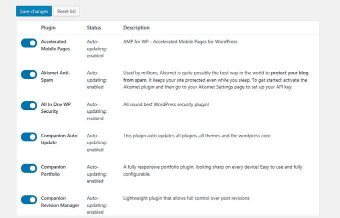 1607489074 115 Les meilleurs plugins pour garder WordPress a jour automatiquement