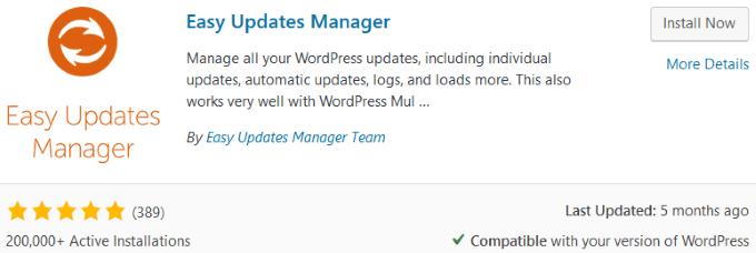 1607489074 461 Les meilleurs plugins pour garder WordPress a jour automatiquement