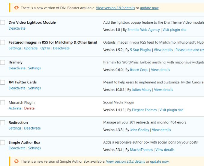 1607489075 713 Les meilleurs plugins pour garder WordPress a jour automatiquement