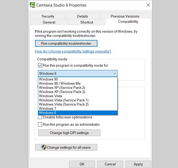 1607508877 1 Comment utiliser les outils de compatibilite Windows 10 pour