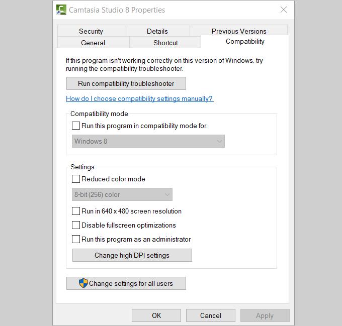 1607508877 886 Comment utiliser les outils de compatibilite Windows 10 pour