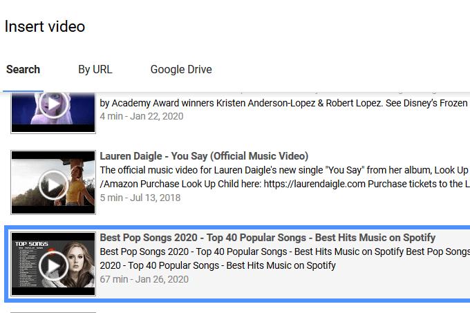 1607511332 438 Comment ajouter de la musique a Google Slides