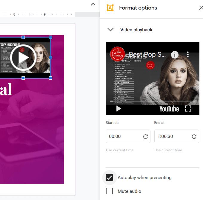 1607511333 927 Comment ajouter de la musique a Google Slides