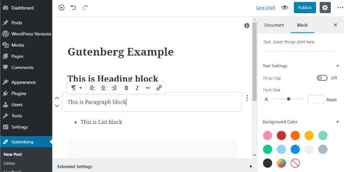 1607517708 700 Comment passer de lediteur WordPress classique a Gutenberg