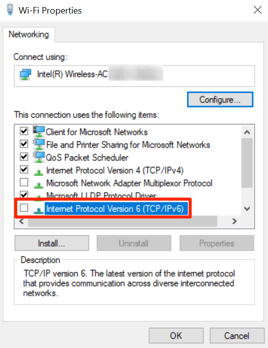 1607530953 773 Correction de lerreur Windows ne peut pas se connecter a