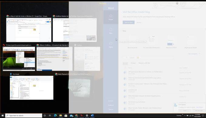 1607533042 67 Comment diviser lecran dans Windows 10