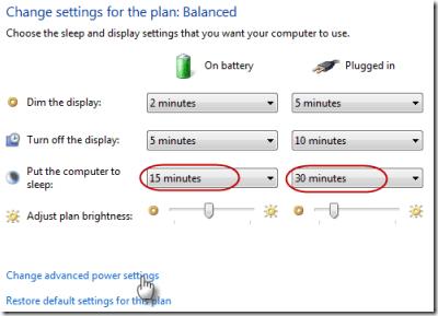 Windows 7 ne dormira pas