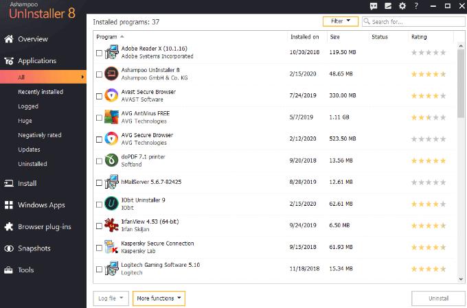 1607557527 378 Comment desinstaller correctement les programmes sous Windows 10