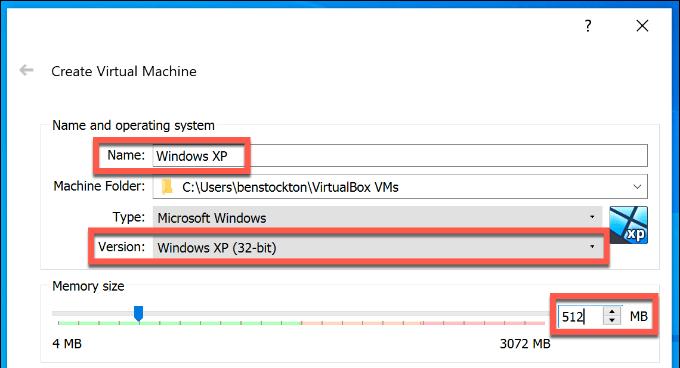 1607562326 289 Comment configurer gratuitement une machine virtuelle Windows XP