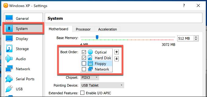 1607562327 320 Comment configurer gratuitement une machine virtuelle Windows XP