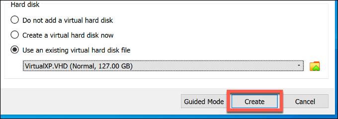 1607562327 391 Comment configurer gratuitement une machine virtuelle Windows XP