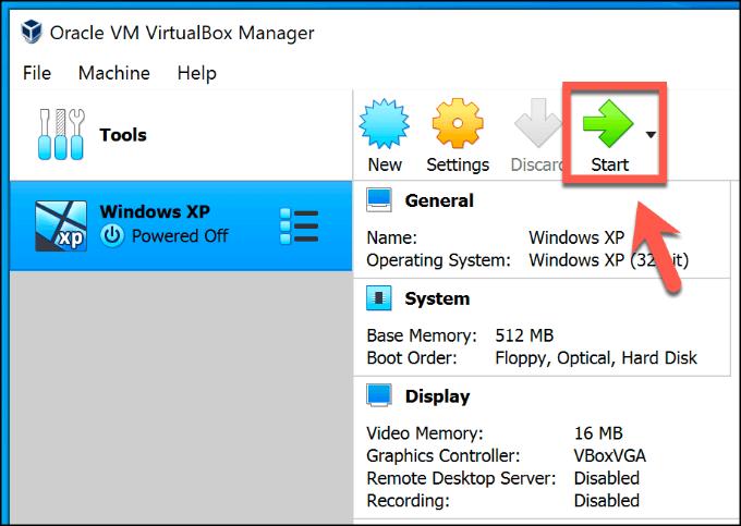 1607562327 510 Comment configurer gratuitement une machine virtuelle Windows XP