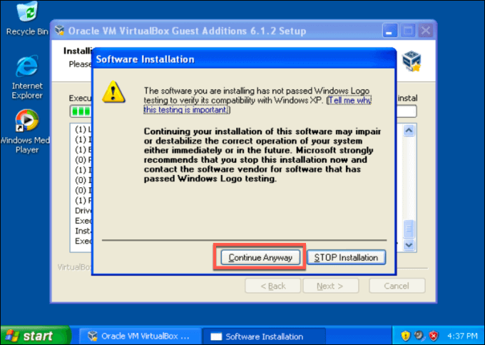1607562328 933 Comment configurer gratuitement une machine virtuelle Windows XP