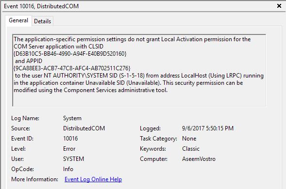 1607566194 966 Correction de lerreur 10016 dans lObservateur devenements Windows