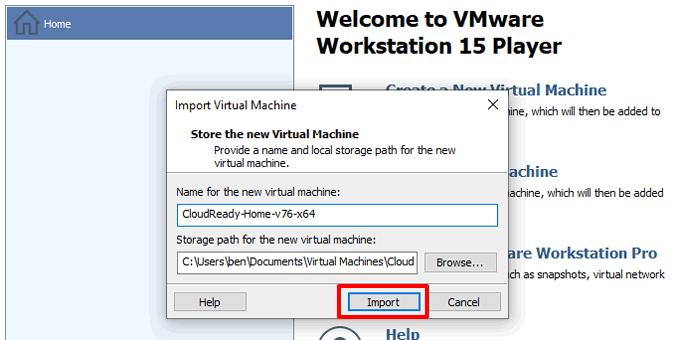 1607567624 414 Comment installer Chrome OS dans VMWare