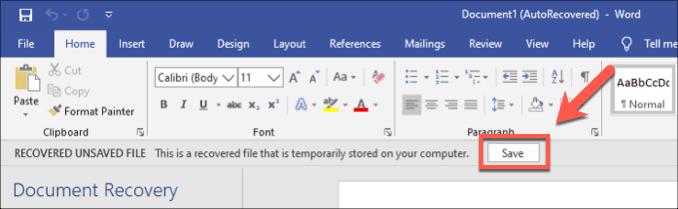 1607568301 701 Comment recuperer un document Word