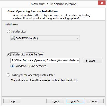 1607573067 299 Comment installer un nouveau systeme dexploitation dans VMware Workstation Pro