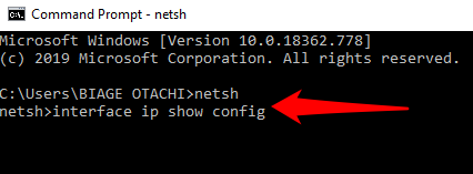 1607592570 612 Modifier ladresse IP et les serveurs DNS a laide de