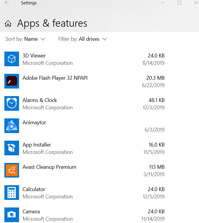 1607594407 250 Comment supprimer ces 9 applications et programmes Windows 10 indesirables