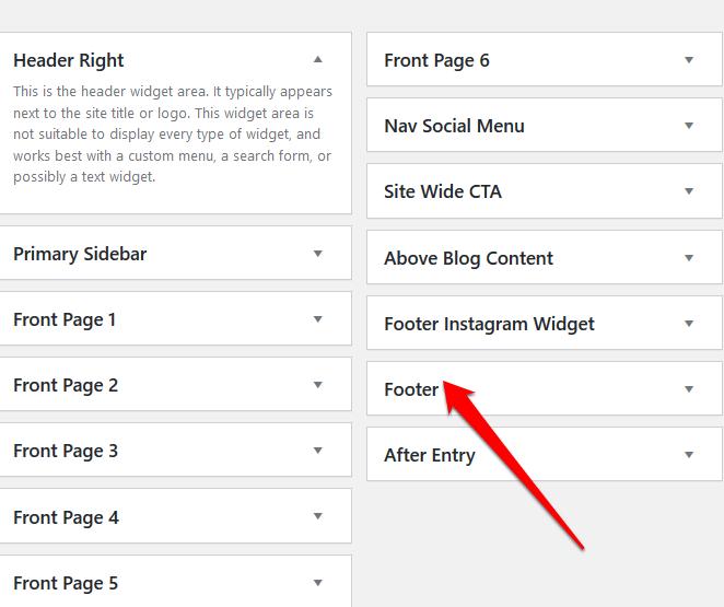 1607599395 606 Comment modifier le pied de page dans WordPress