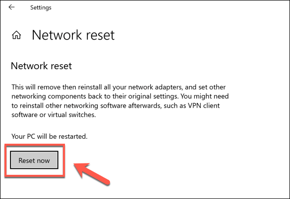 1607603051 249 Comment reinitialiser les parametres reseau dans Windows 10