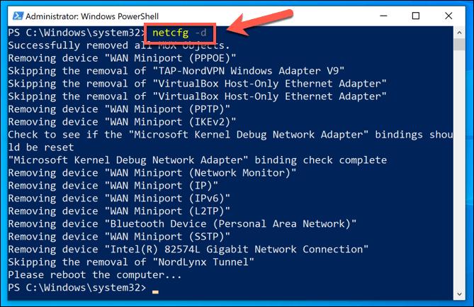 1607603051 25 Comment reinitialiser les parametres reseau dans Windows 10
